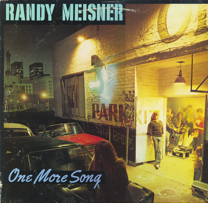 1980 Randy Meisners One More Song Is Released